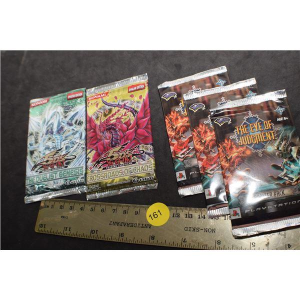 YU-GI-OH Vintage sealed card, etc.