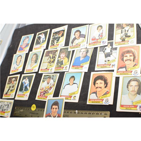 1975/76 WHA Hockey cards