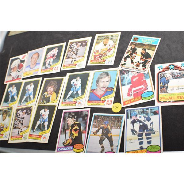 1970's Hockey cards
