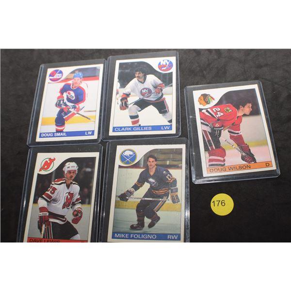 1980's NHL Hockey cards