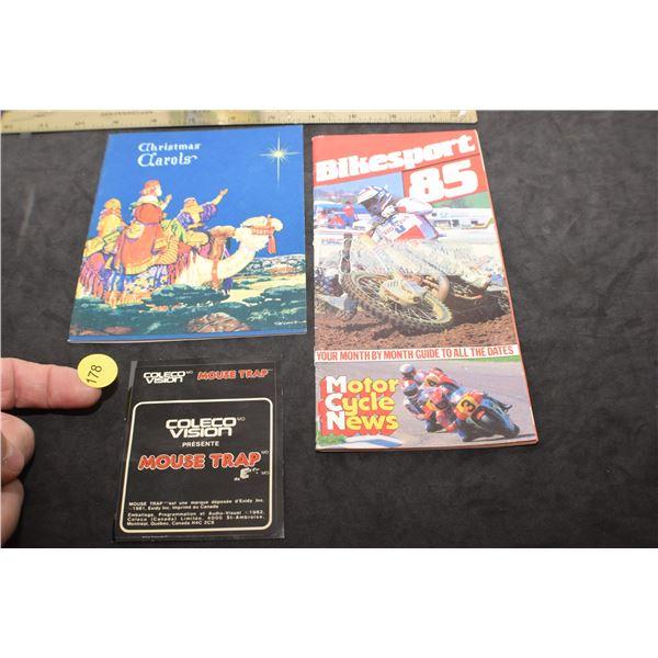 1981 Mouse Trap game sticker/Bike Sport 1985/etc.