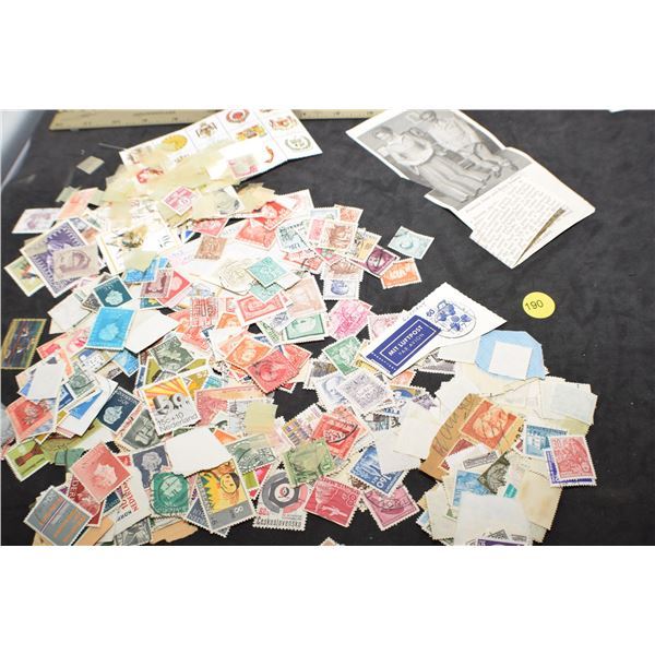 Box of stamps
