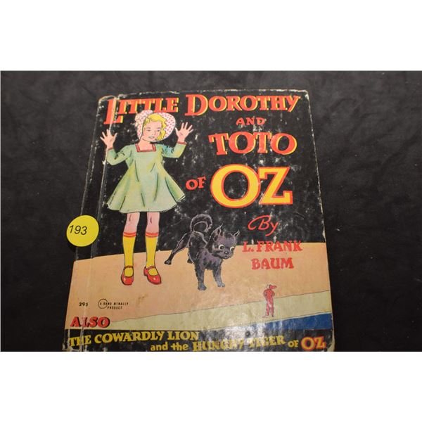1940's Wizard of Oz book
