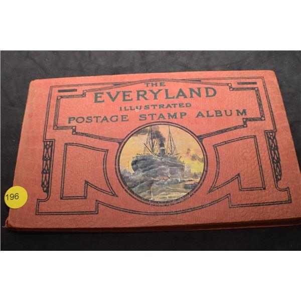 Antique Stamp album