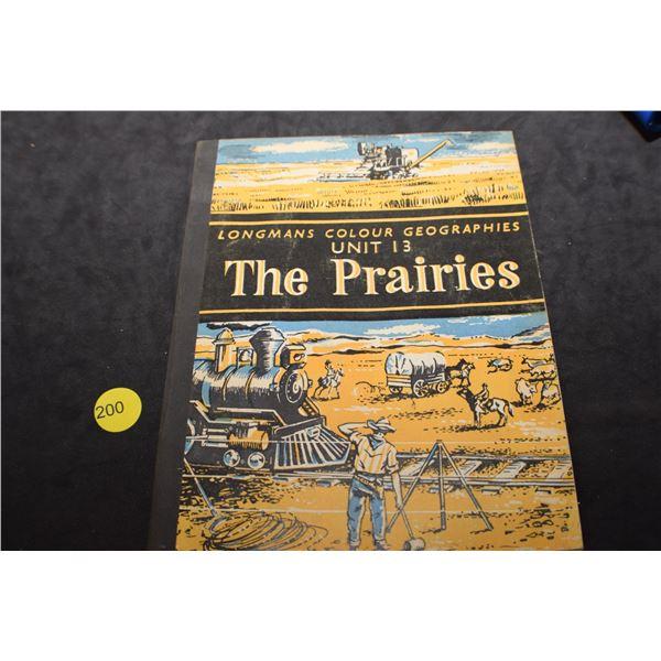 Canadian Prairies book