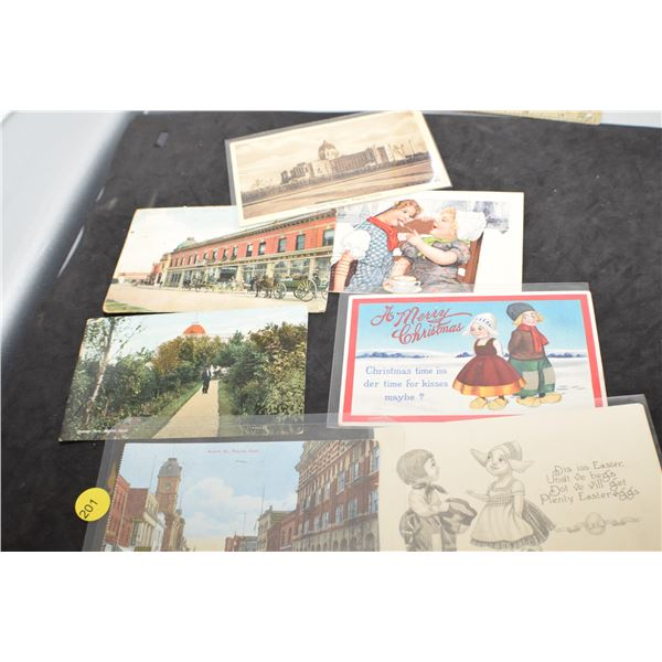 Regina postcards