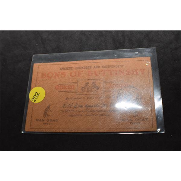 1905 Saskatoon leather postcard