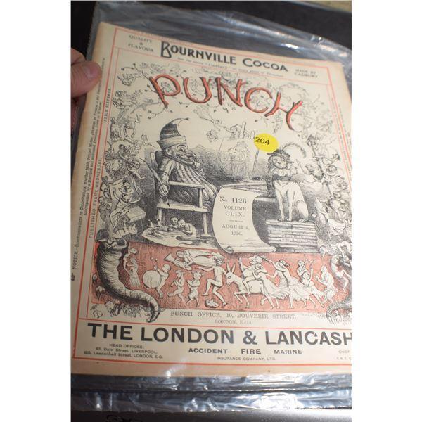1920 Punch magazine