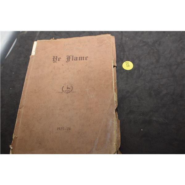 1925 Regina Central Collegiate yearbook