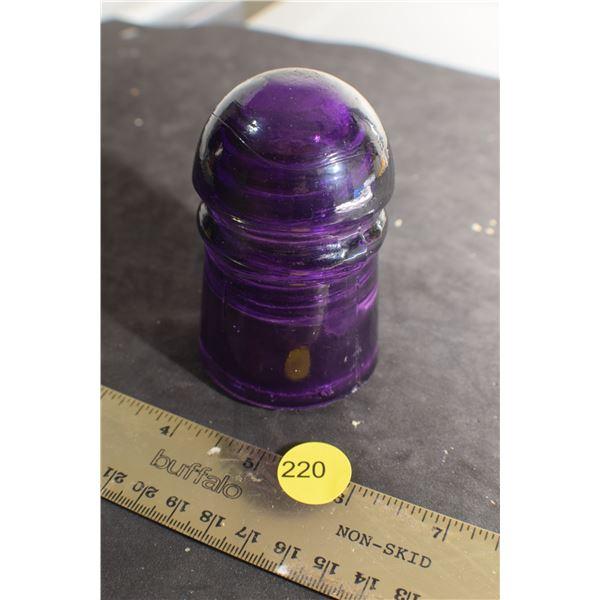 Purple Dominion Insulator - no chips