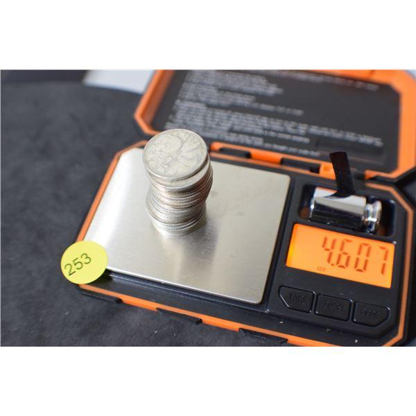 Scrap Canada Coin Silver (quarters) 4.60 oz
