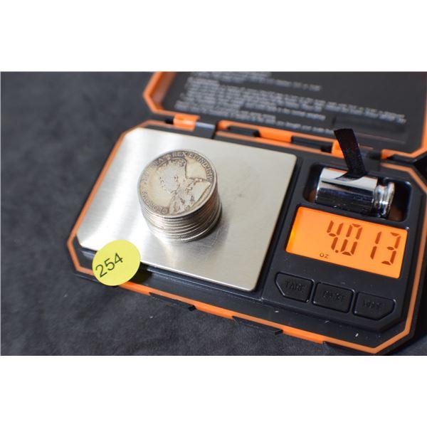 Scrap Canada Coin Silver (50 cent pieces) 4.01 oz