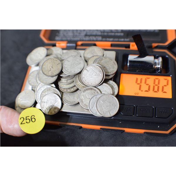 Scrap Canada Coin Silver (dimes) 4.58oz