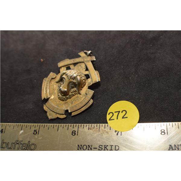 1906 Buffalo Sterling presentation pin/medal