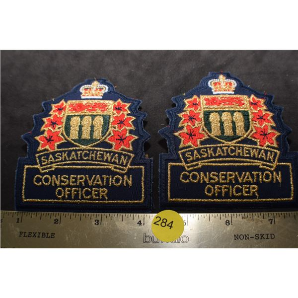 Sask Conservation Officer patches