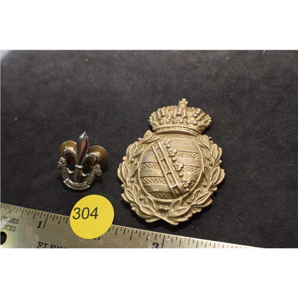 Boy Scout & Military pin