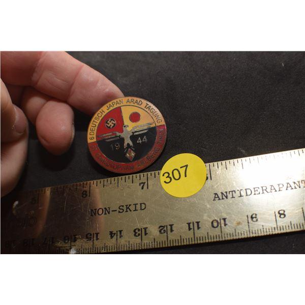 German/Japan WW II pin
