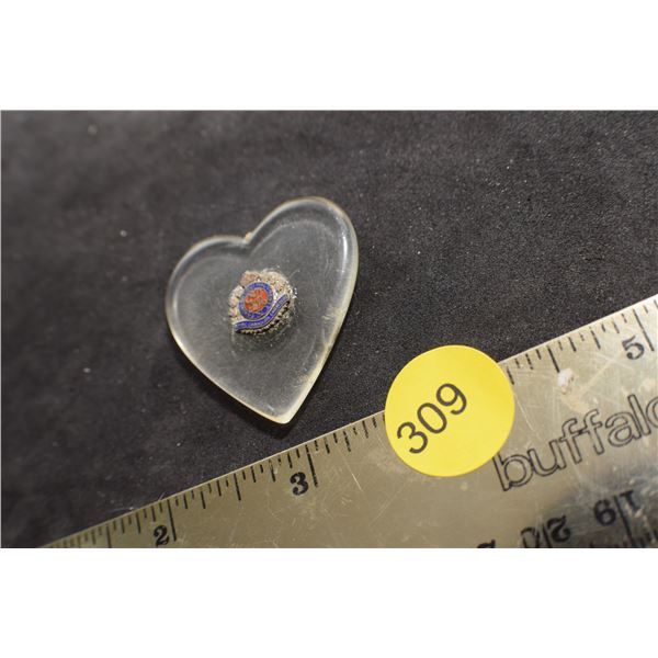 Royal Canadian Engineers Sweetheart pendant