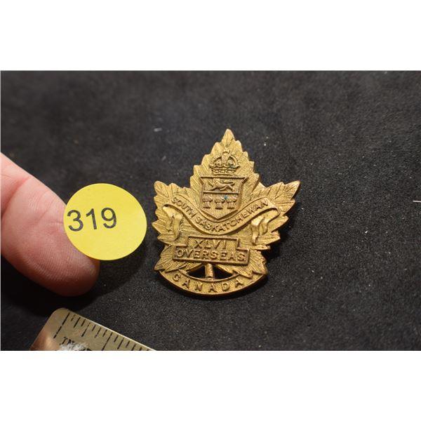 South Sask. Regiment Badge