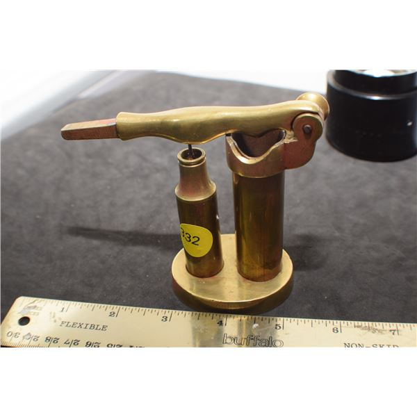Brass Military Shell reloader