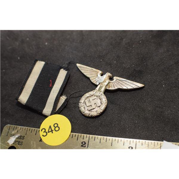 German WW II Luftwaffe SS badge (repaired)