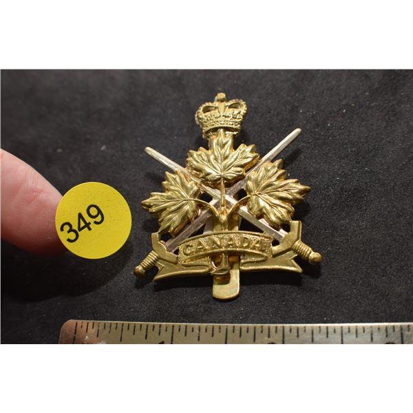 Canada cap badge