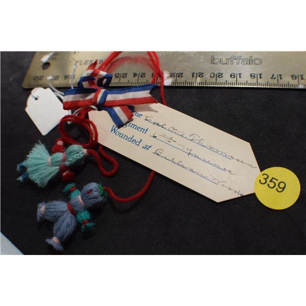 WW I Marine dolls