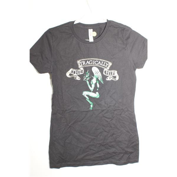 Vintage NOS Tragically Hip T Shirt size Junior M