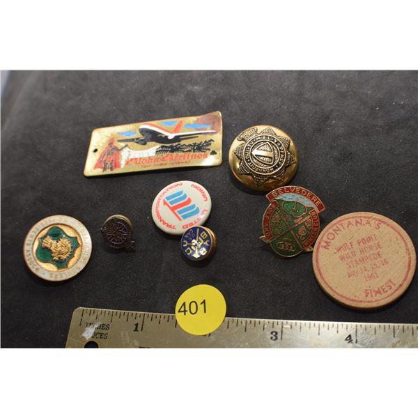Antique pin lot