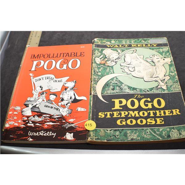 Vintage Pogo books fr Greg Barnsley estate CTV