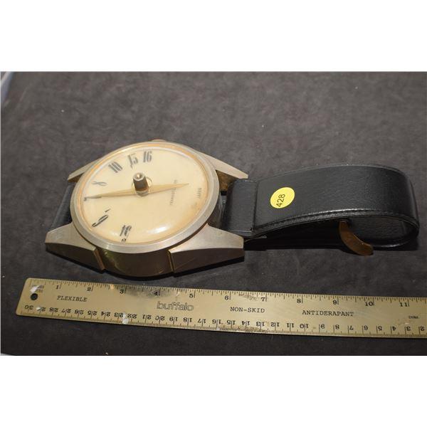 Very cool Vintage table top wristwatch radio