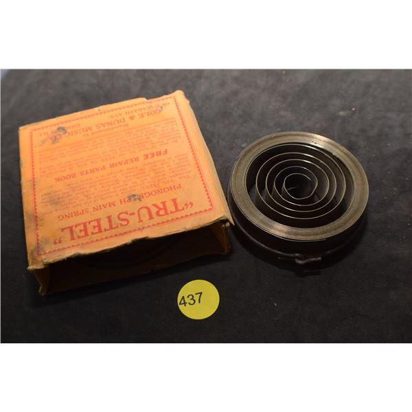 2 X NOS Gramophone main springs