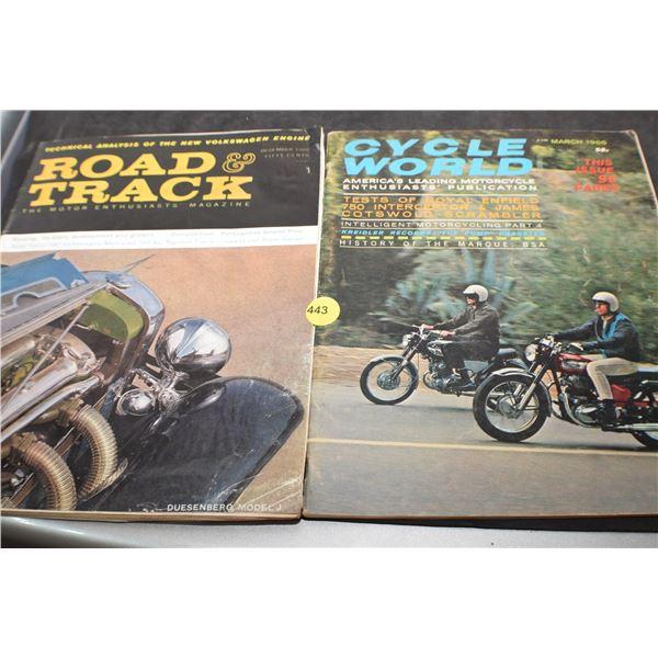 Motorcycle & Car 1960's magazine