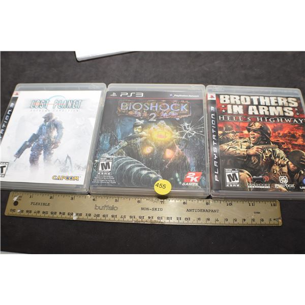 PlayStation 3 game lot - like new
