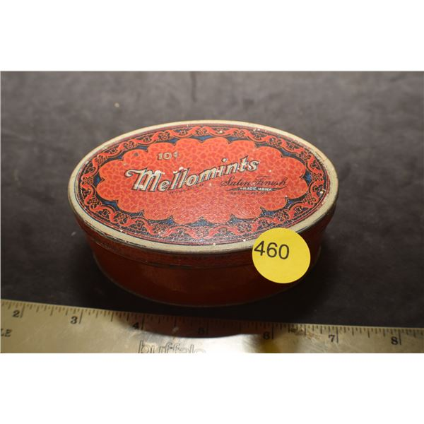 Antique 10 cent candy tin