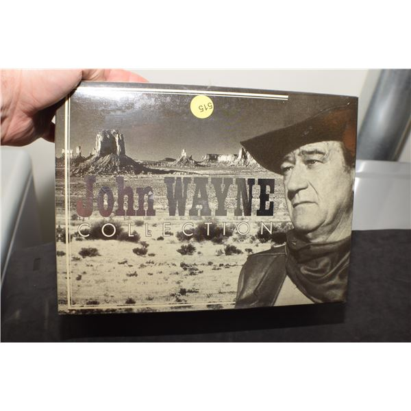 Sealed John Wayne Collection 10 VHS tapes