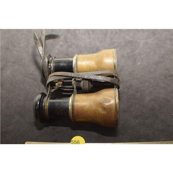 Antique Binoculars - missing lense