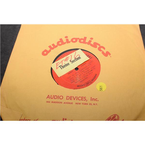 1960 Toni Hair Dye - radio ad on record