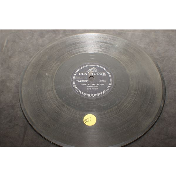 "10"" 78 RPM Elvis record"