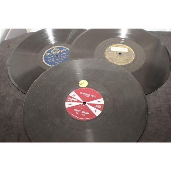 "10"" 78 RPM Johnny Horton/Dinah Shore"