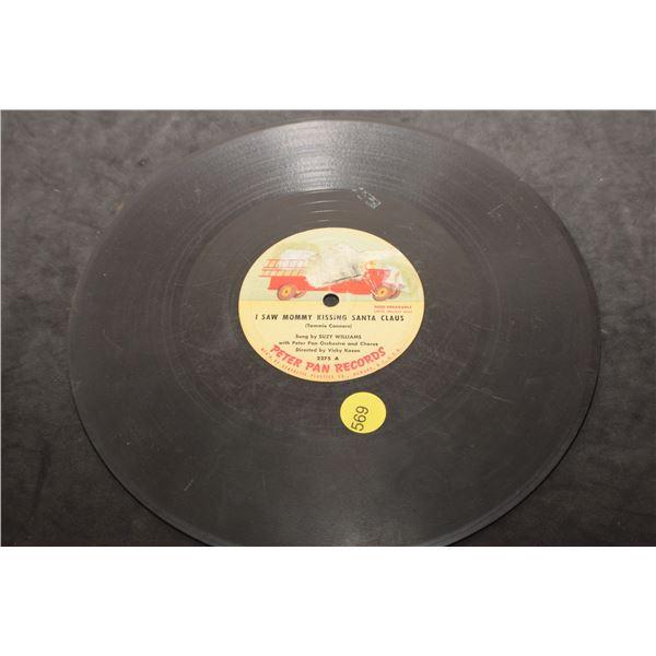 """10"""" 78 RPM Children's records"""