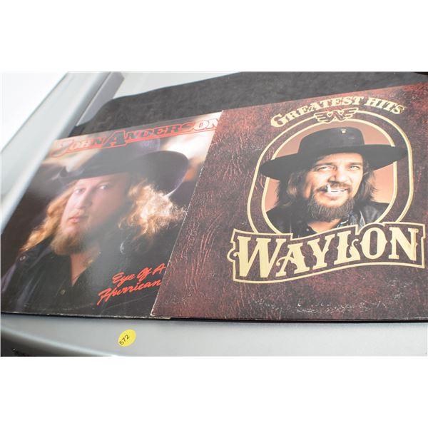 Waylon's Greatest Hits/John Anderson LP