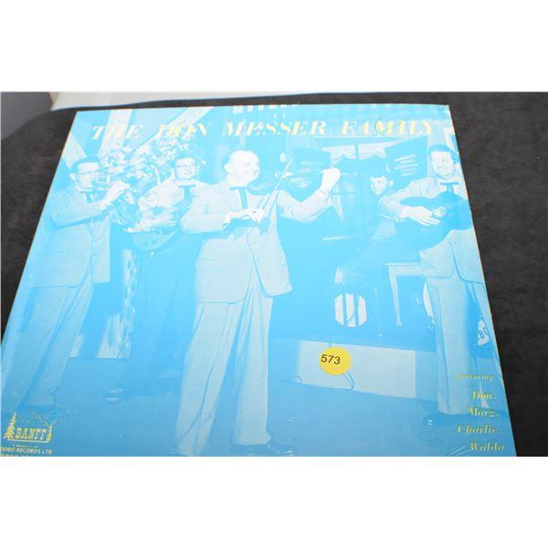 Factory Sealed Don Messer LP