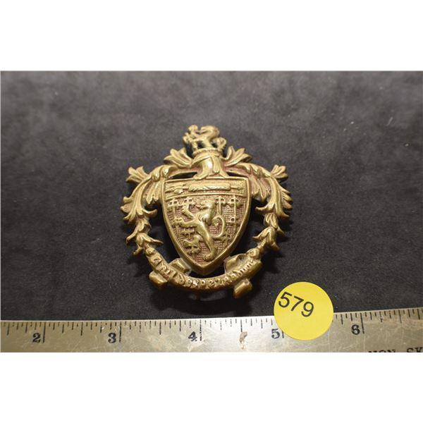 Antique Regiment Badge??