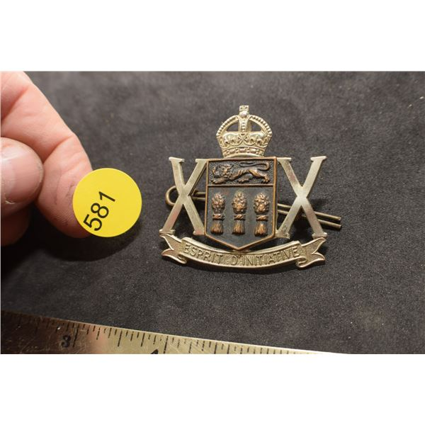 Saskatchewan Regiment badge