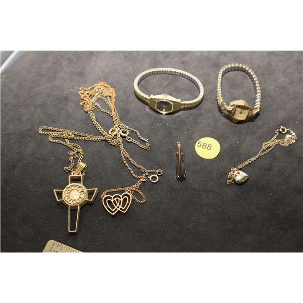 Vintage Ladies Watches/Jewelry
