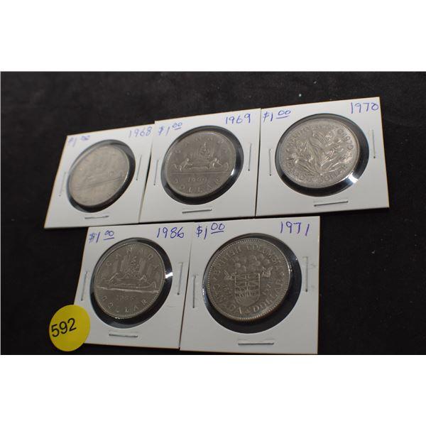 5 Canada Coin dollars