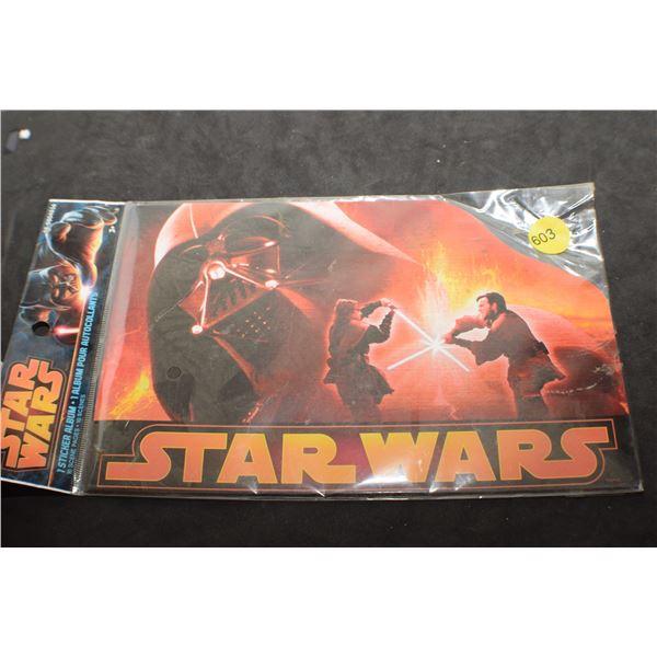 2013 Star Wars Sticker album