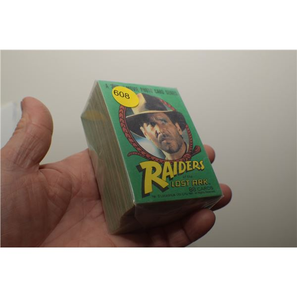 1981 Raiders of the Lost Ark Trading cards