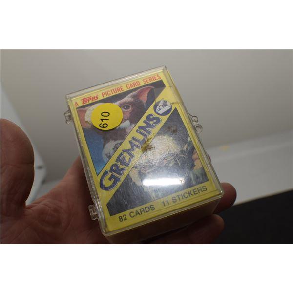 Full set 1984 Gremlins trading cards
